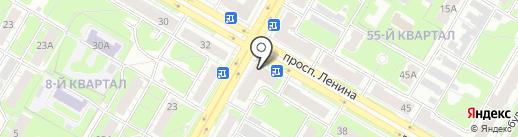 LORENA кухни на карте Дзержинска
