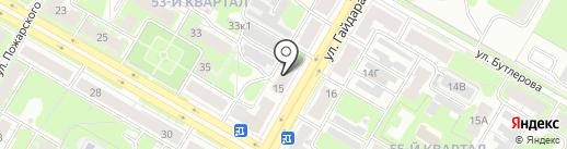 RoutExpress на карте Дзержинска