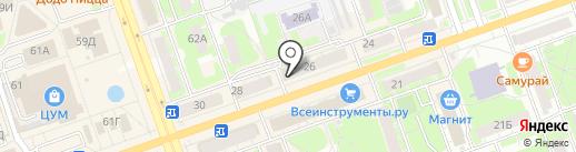 ПУЛЬТ+ на карте Дзержинска