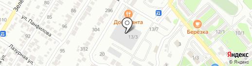 Доминанта на карте Георгиевска