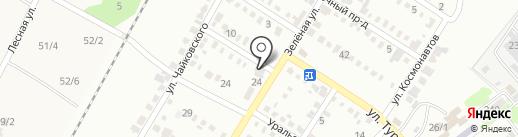 Почтовое отделение №10 на карте Георгиевска