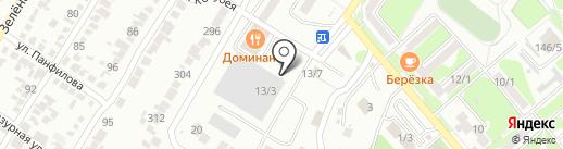 Адвокатский кабинет Уманец Н.К. и Уманец А.Н. на карте Георгиевска