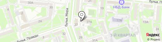 ЭРА рекламы на карте Дзержинска
