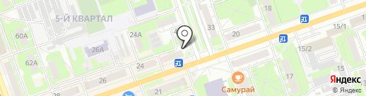 ЗдравСити на карте Дзержинска