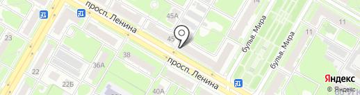 Магазин дверей на карте Дзержинска