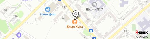 Причал на карте Георгиевска