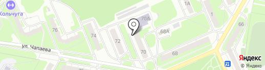 Альянс-НВ на карте Дзержинска