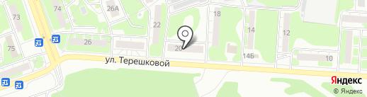 ОКО на карте Дзержинска