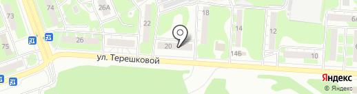 Технопол на карте Дзержинска