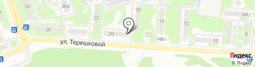 Полная чаша на карте Дзержинска