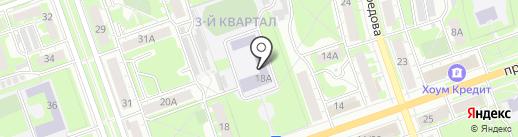 Средняя общеобразовательная школа №39 на карте Дзержинска