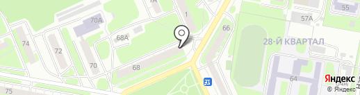 СтройМаркет на карте Дзержинска