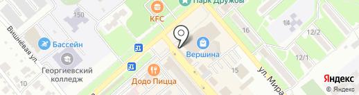 Сладкий домик на карте Георгиевска