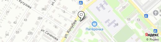 Магазин на карте Георгиевска