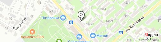 Георгиевское земельное бюро на карте Георгиевска