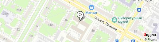 Дэка-Строй на карте Дзержинска