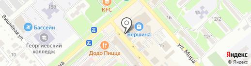 Мастерская по изготовлению ключей на карте Георгиевска