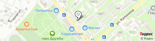 Нотариус Лунева Е.С. на карте Георгиевска