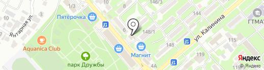 Империал на карте Георгиевска