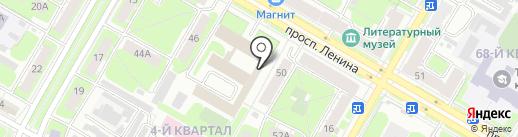 Магазин упаковочных материалов на карте Дзержинска