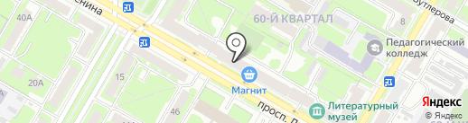 ВЛК-Тур на карте Дзержинска