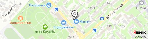 Самоклейка на карте Георгиевска