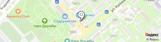 Косметик-профи на карте Георгиевска