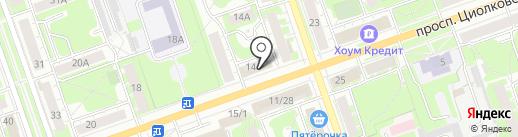 Содействие на карте Дзержинска