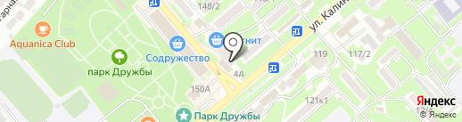Окна БЕРТА на карте Георгиевска