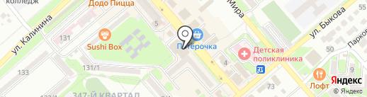 Smoke на карте Георгиевска