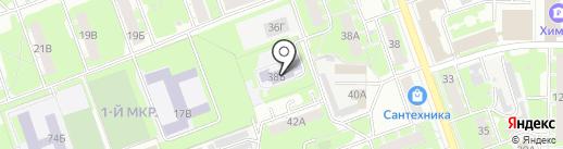 Детский сад №111 на карте Дзержинска