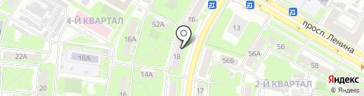Интеркомп на карте Дзержинска