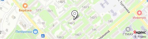 Почтовое отделение №7 на карте Георгиевска