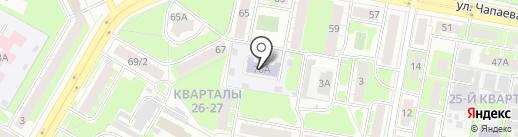 Детский сад №90 на карте Дзержинска