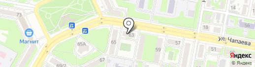 КарАудио на карте Дзержинска
