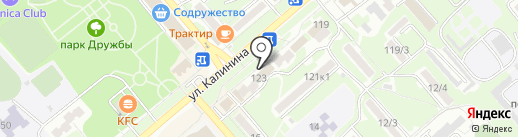 Жилой квартал на карте Георгиевска