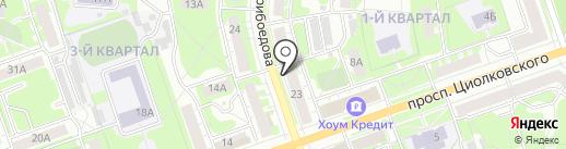 Гурман на карте Дзержинска