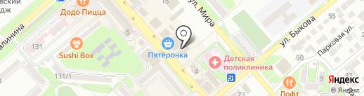Аскона на карте Георгиевска