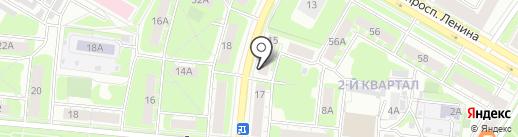 Адвокатская контора №28 на карте Дзержинска