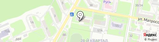 Следственный отдел по г. Дзержинску на карте Дзержинска