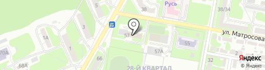 Отдел судебных приставов по Володарскому району на карте Дзержинска