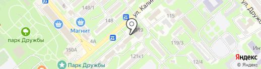 Магазин канцелярских товаров на карте Георгиевска
