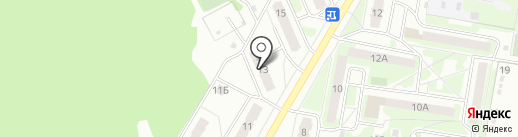 Скорпион на карте Дзержинска