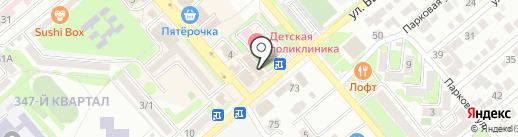 Премьер на карте Георгиевска