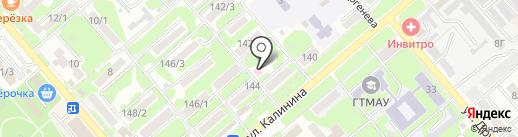 Аполлония на карте Георгиевска