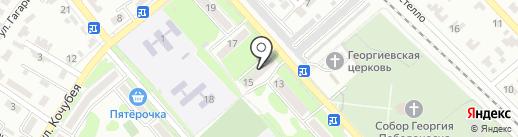 Служба безопасности бизнеса на карте Георгиевска