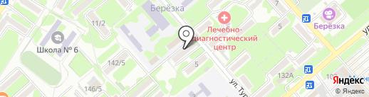 Диана на карте Георгиевска