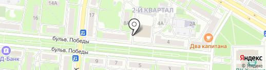 Столовая на карте Дзержинска