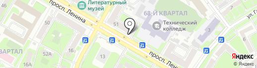 Бюро медико-социальной экспертизы на карте Дзержинска