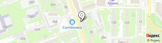 Ева на карте Дзержинска
